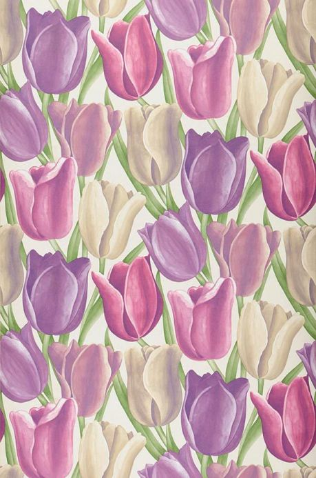Archiv Wallpaper Kalwadi violet Roll Width
