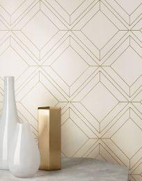 Wallpaper Malekid cream