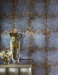 Wallpaper Heilango pale grey blue