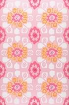 Wallpaper Rosane Matt pattern Shimmering base surface Modern damask Rose Magenta Daffodil yellow White