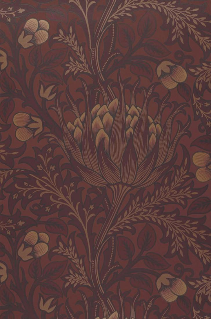 andastra rosenholz anthrazit braunrot perlgold schwarzrot florale tapeten. Black Bedroom Furniture Sets. Home Design Ideas