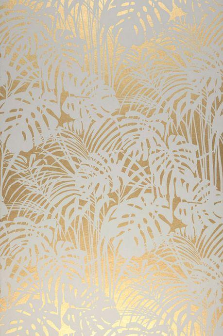 Papel de parede dourado Papel de parede Persephone ouro Largura do rolo