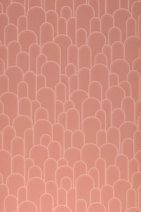 Art Deco Wallpaper Wallpaper Fabius rosewood Roll Width