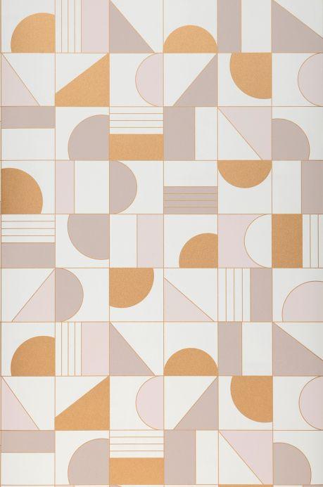 Wallpaper Wallpaper Cubit cream Bahnbreite