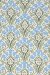 Papel de parede Florence azul pastel