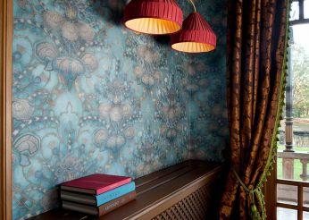 Wallpaper Malsumi turquoise