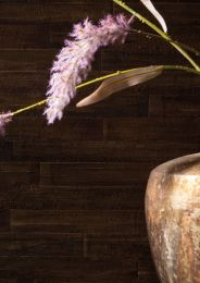 Wallpaper Water Hyacinth 03 dark brown