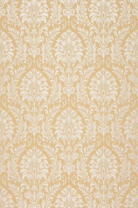 Wallpaper Sedan Shimmering pattern Looks like textile Matt base surface Baroque damask Sand Grey white shimmer