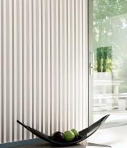 Wallpaper Stripes by Porsche Matt Stripes Beige grey shimmer Cream Grey beige shimmer