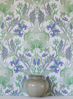 Wallpaper Denisa green Raumansicht