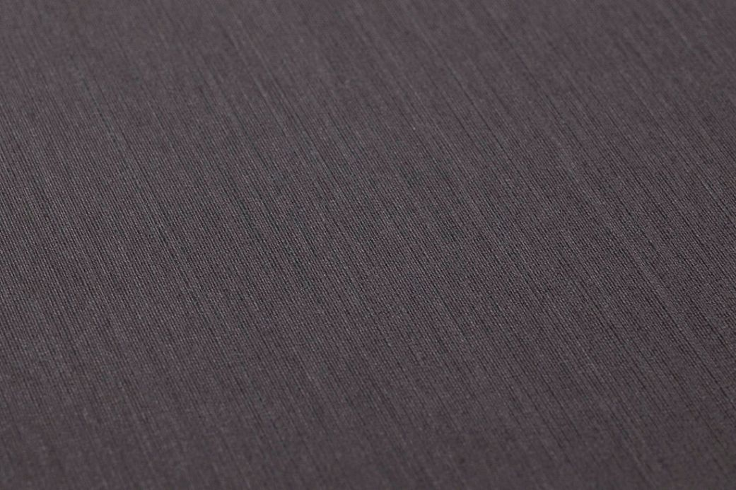 Carta da parati tessuto Carta da parati Textile Walls 03 grigio scuro Visuale dettaglio