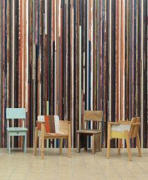 Wallpaper Scrapwood 15 red