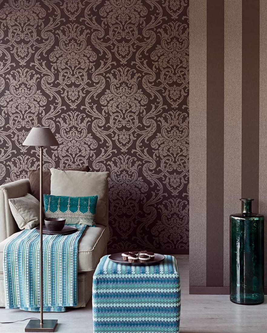 maradila anthrazit mattsilber barock tapeten. Black Bedroom Furniture Sets. Home Design Ideas