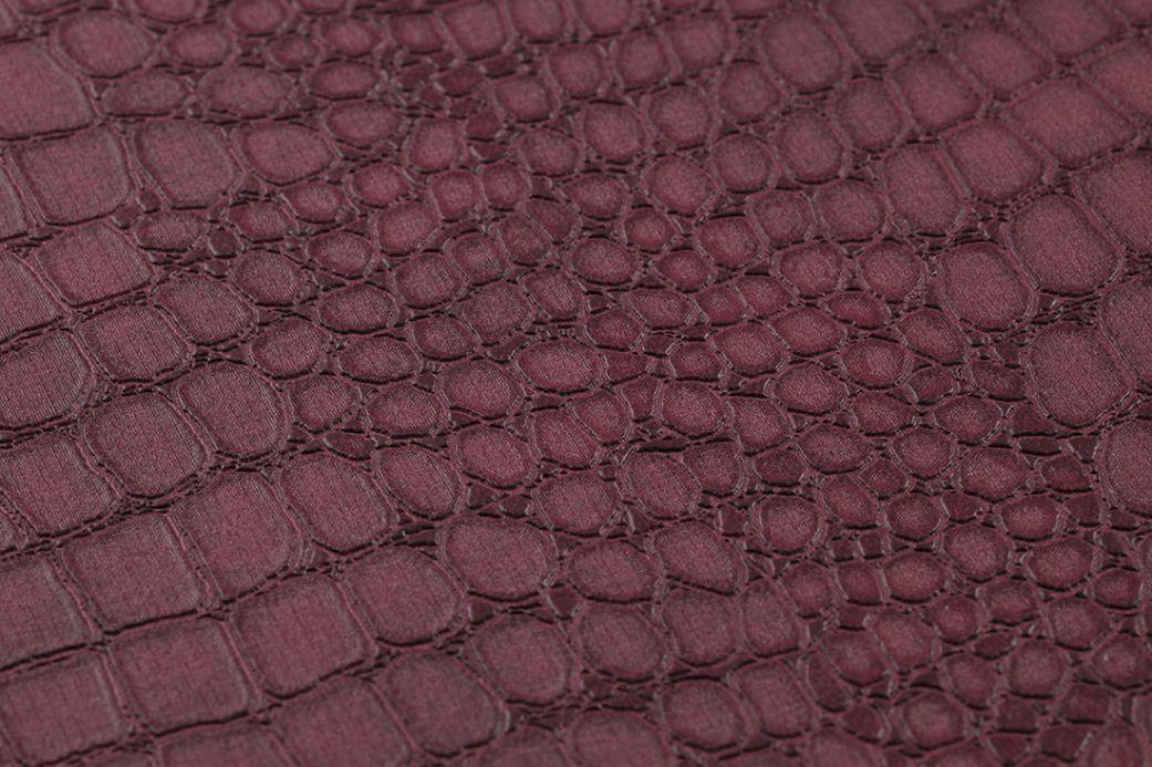 Archiv Papel de parede Caiman violeta bordeaux Ver detalhe