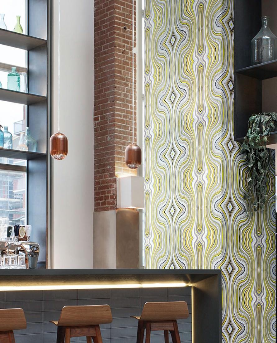 tapete mentana braun cremeweiss gelb grau silbergrau. Black Bedroom Furniture Sets. Home Design Ideas