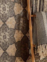 Wallpaper Marrakesh black brown