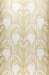 Wallpaper Emilia pearl gold