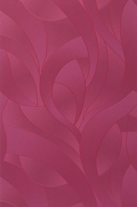 Wallpaper Pandora Matt Graphic waves Red violet