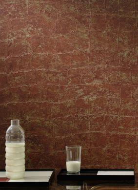 Papel pintado Croco 13 marrón rojizo Ver habitación