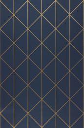 Wallpaper Biloba dark blue