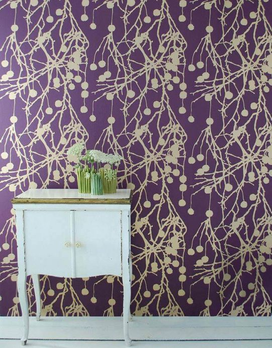 Archiv Wallpaper Tree Bomb gold Room View