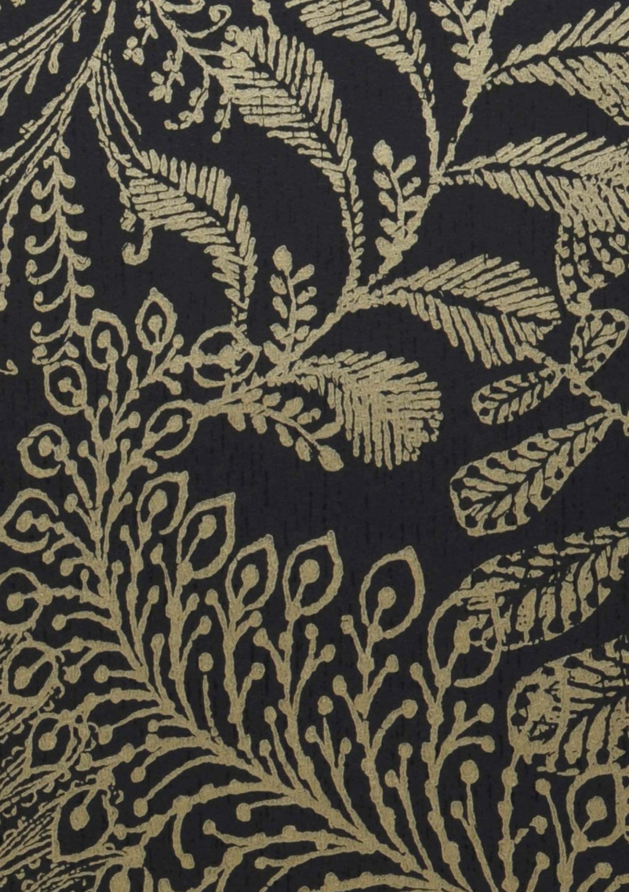 wallpaper lioba anthracite pearl gold wallpaper from the 70s. Black Bedroom Furniture Sets. Home Design Ideas