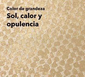 Para pintado oro para pocas doradas en nuestra boutique for Papel pintado marron y dorado