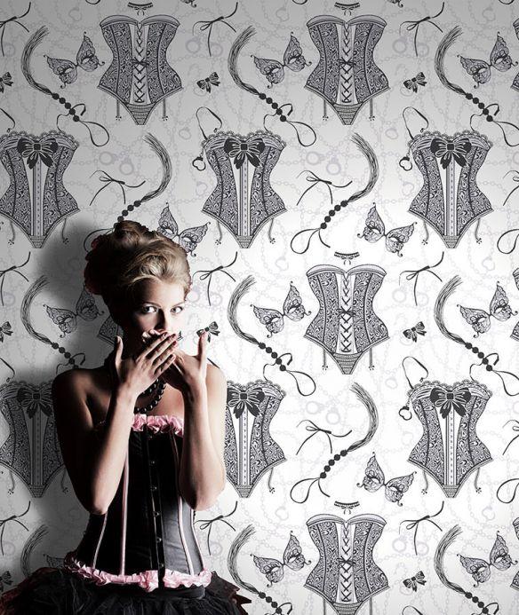 Archiv Papel pintado Zalina negro Ver habitación