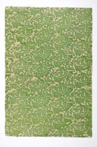 Wallpaper Sangpo Batik Style Hand-printed Matt Shabby chic Floral Elements Beige Pea green