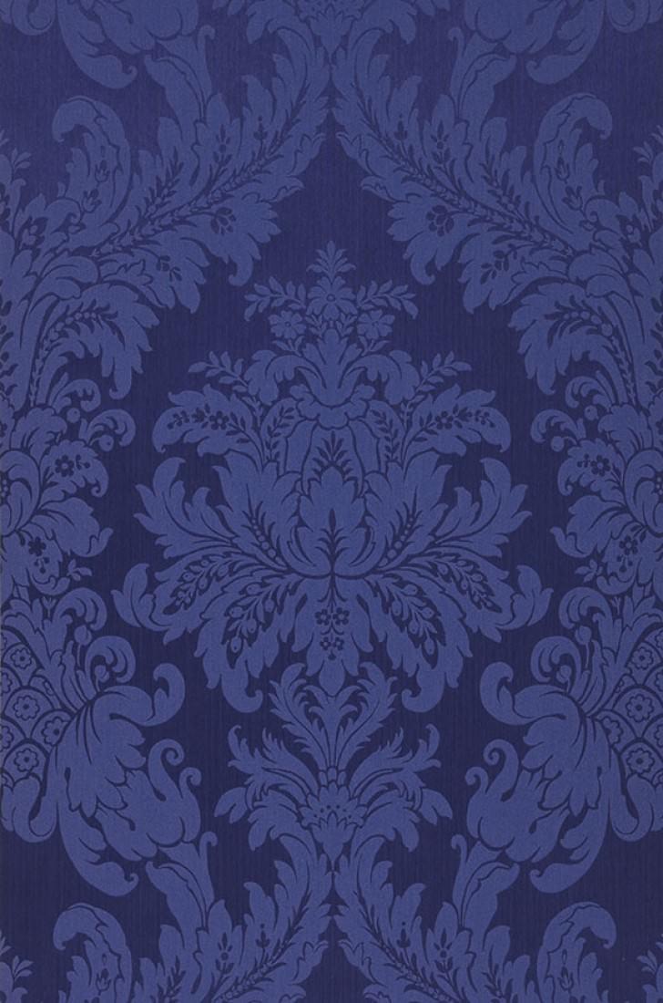 Carta da parati odilia blu notte blu violetto carta for Parati anni 70
