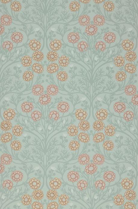 Wallpaper Wallpaper Pelage light mint grey Bahnbreite