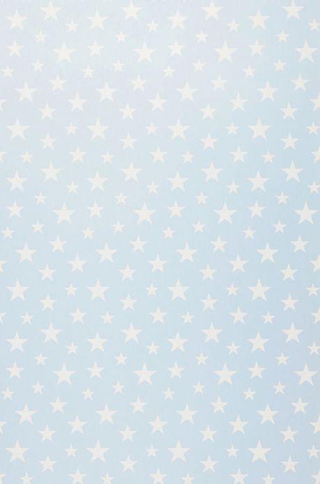 Archiv Carta da parati Little Stars blu chiaro Larghezza rotolo