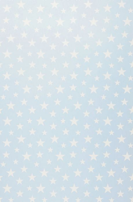 Archiv Wallpaper Little Stars light blue Roll Width