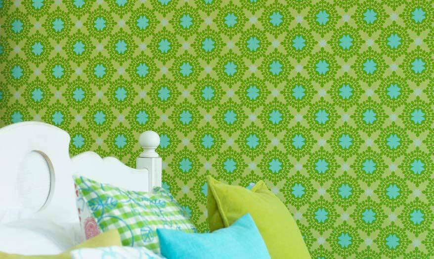 Gr?ne Tapeten Mit Muster : Gr?ne Tapeten wecken die Lebensgeister Design Tapeten in Gr?n