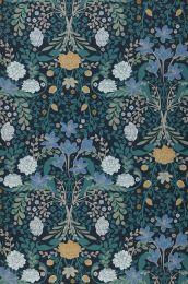 Papel de parede Kristina azul brilhante
