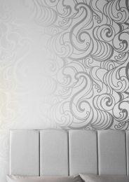 Papel pintado Madina blanco