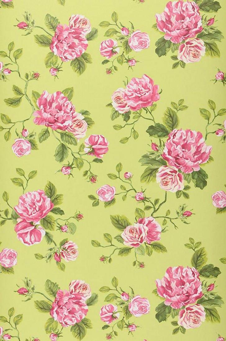 Carta da parati fiori confortevole soggiorno nella casa for Carta da parati con fiori