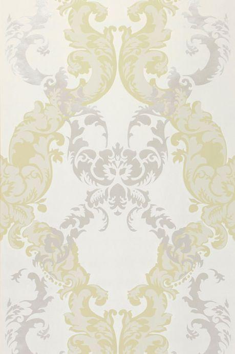 Archiv Papel pintado Siemara verde pálido Ancho rollo