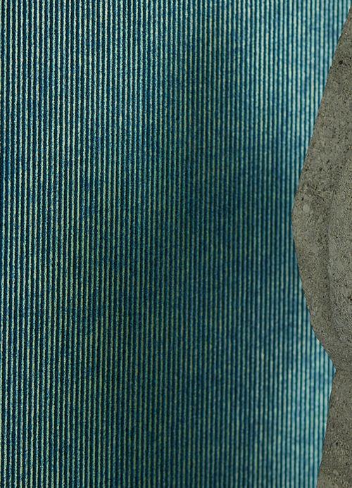 Striped Wallpaper Wallpaper Hotaru ocean blue Room View