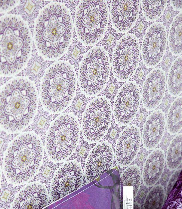 Archiv Papier peint Finola violet Vue pièce
