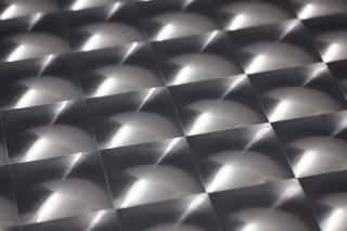 Wallpaper Cassiopeia Hologram effect Prisms Black grey lustre