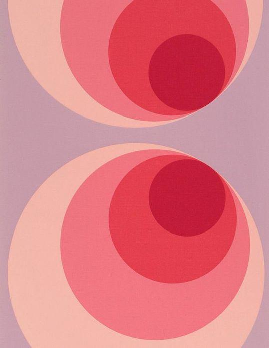 Archiv Wallpaper Apollo rose violet Roll Width