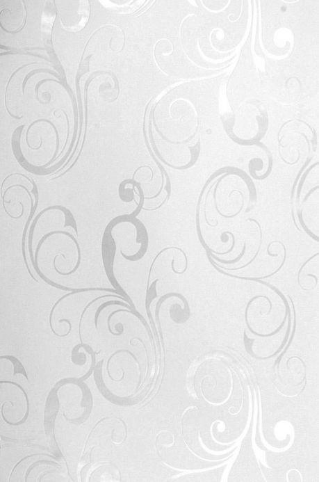Archiv Papier peint Occodo blanc nacré lustre Largeur de lé