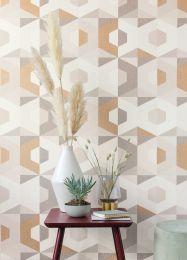 Wallpaper Fabrice brown tones