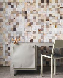Wallpaper Scrapwood 16 light beige