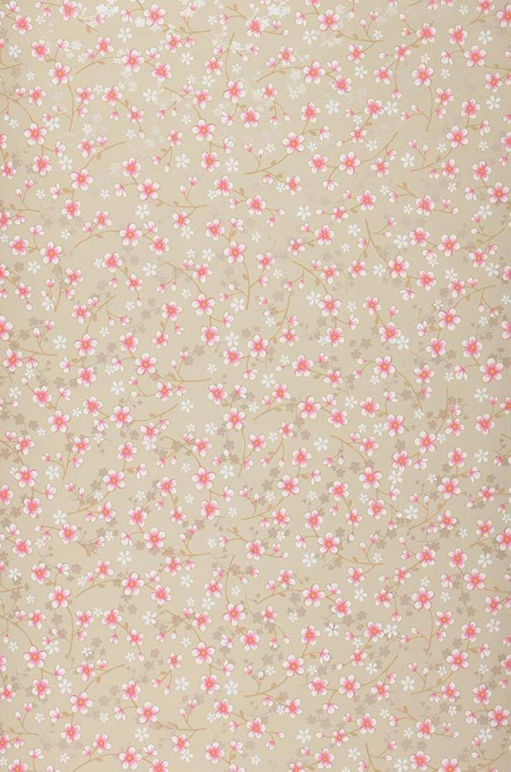 felicia hellgraubeige blasshellbraun erikaviolett graubeige glanz weiss florale tapeten. Black Bedroom Furniture Sets. Home Design Ideas