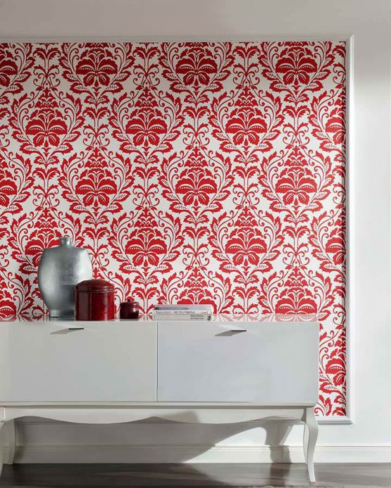 Archiv Wallpaper Jumah red Room View