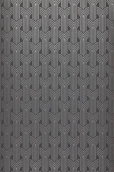Archiv Wallpaper Miru silver Roll Width