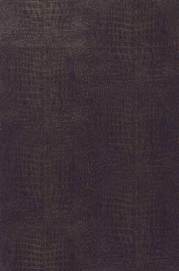 Papel de parede Alligator marrom negrusco Largura do rolo