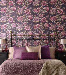 Papel de parede Syros violeta avermelhado